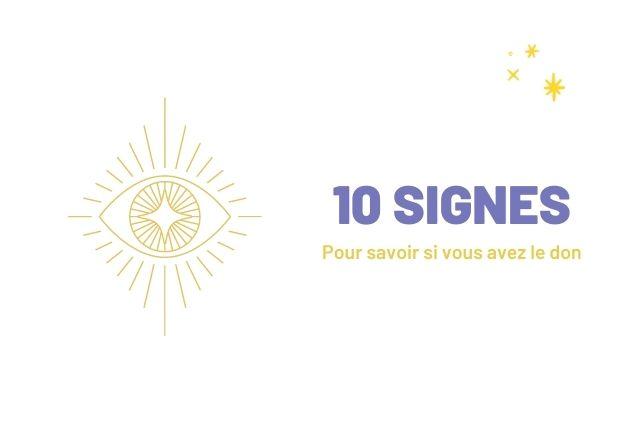 Voyance: 10 signes pour savoir si vous avez le Don