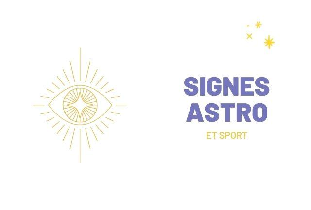 signes astro et sport